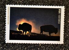 2016USA #5080n Forever - National Parks Centennial  Yellowstone National buffalo