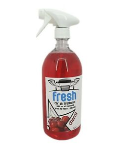 Car Air Freshener Valeting Concentrate 1L Bottle Cherry Scented