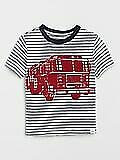BNEW GAP KIDS Toddler Short Sleeve All Over Print Stripe T-Shirt Size 2 y.o