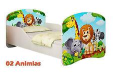 Children Kids Bed Mattress Delivery Toddler 02. Animals Yes 160x80