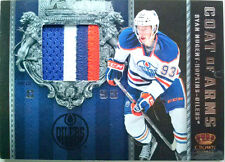 4/25 RYAN NUGENT HOPKINS COAT OF ARMS JERSEY PATCH 2011 11 12 CROWN ROYALE jsy