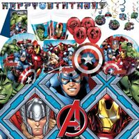 Marvel Avengers Party Supplies Tableware, Decorations & Balloons