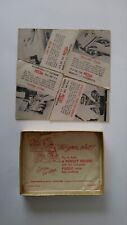 """RARE Vintage 1950's ROYAL TYPEWRITER """"A PERFECT SQUARE PUZZLE"""" (4) Piece"""