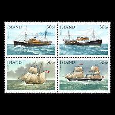 Iceland 1991 - Ships Boats - Sc 745 MNH