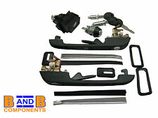 VW GOLF MK2 COMPLETE LOCK KIT SET TAILGATE DOORS IGNITION 191898081 A828