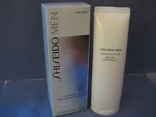NIB Shiseido Men CLEANSING FOAM MOUSSE NETTOYANTE (CLEANSE)  125ml 4.6 oz