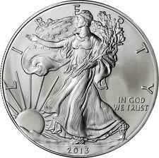 2013 American Silver Eagle ASE GEM BU Fresh from Mint tube ** FREE SHIPPING! **