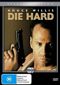 Die Hard DVD (PAL, 2003, 2 Disc Set) Special Edition - Free Post