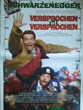 VERSPROCHEN IST VERSPROCHEN - SCHWARZENEGGER - orig. Kino  -  Poster 118x84 cm
