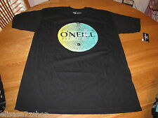 Men's O'Neill Bomber Black 421s18002m Classic Fit M cotton T shirt NEW surf
