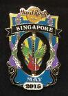 Hard Rock Cafe PinSingapre - 2015 - Calender Series Pin - May LE100