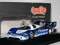 Quartzo Q3069 Porsche 956 Schiesser 1985 Hockenheim 1000km #19 1/43