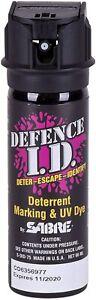 SABRE-SDID-75 Legal Self Defence Protect Spray, 66ml Spray