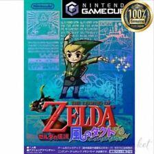 NINTENDO GAMECUBE The Legend of Zelda Wind Tact Game Softwear from JAPAN
