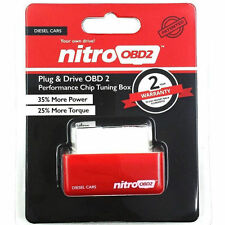 Nitro OBD2 For Diesel Cars Plug Drive Performance Chip Power Torque Tuning Box
