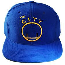 Mitchell & Ness Golden State Warriors Snapback Hat Hardwood Classic Fleece Cap