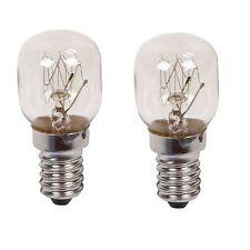 2 X 15w Ge Branded Oven Lamps Cooker Light Bulbs 240v Ses E14 300 Degree