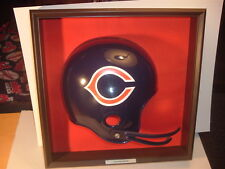 1970's Chicago Bears Placo Inc. Football Helmet Plaque