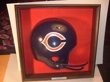 1970's Chicago Bears Placo Inc. Football Helmet Plaque