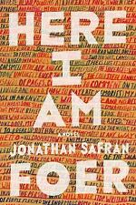(NEW) Here I Am by Jonathan Safran Foer (2016, Hardcover)