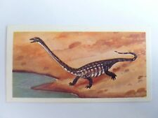 Brooke Bond Prehistoric Animals tea card 35. Tanystropheus. Dinosaurs.