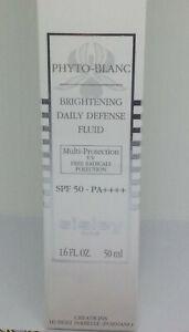 SISLEY PARIS PHYTO-BLANC BRIGHTENING DAILY DEFENSE SEALED 1.6oz FLUID SPF50-PA++