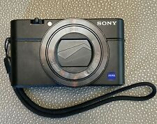 Sony Cyber-shot DSC-RX100 iv (M4) 20.1 Megapixel (24-70 Zeiss lens) Barely Used