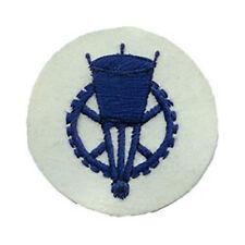 Kriegsmarine Engineer EM Trade Badge - WW2 Repro Patch Navy Sailor Wheel New