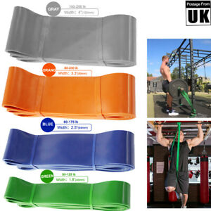 Heavy Duty Resistance Bands Pull Up Set Assisted Exercise Tube Home Gym Fitness