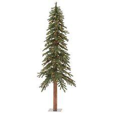 "6' X 33"" Natural Alpine Christmas Tree Vickerman Pre-lit 250 Lights"