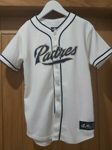 Authentic MLB Jersey San Diego Padres Blank # Game Issued White Jersey