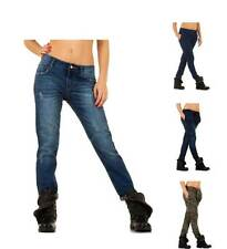 Markenlose Boyfriend Damen-Jeans aus Denim