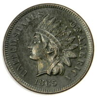 1865 INDIAN CENT - BOLD UNCIRCULATED MS - PRICED RIGHT!
