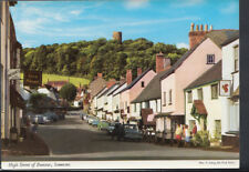 Somerset Postcard - High Street of Dunster   RR3316
