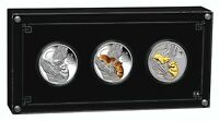 Year of The Mouse 1 oz Proof Silver Coins Trio Set Australia 2020  by Perth Mint