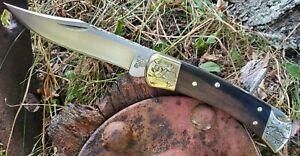 Ghostown Custom Knives  Buck 110  Engraved Bolsters