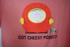 Eric Cartman South Park Comedy Central t shirt Got Cheesy Poofs 2006