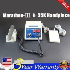 Dental Lab Marathon Micromotor Micro Motor Amp Polishing Handpiece 35000 Rpm