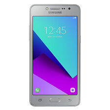 Samsung Galaxy J2 Prime Unlocked GSM LTE Quad-Core Dual-SIM 8MP Phone - Silver