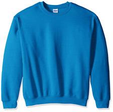 Gildan Men's Heavy Blend Crewneck Sweatshirt - Small - Antique Sapphire