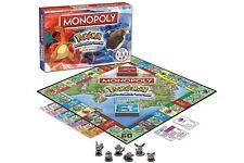 NEW Monopoly: Pokemon Johto Edition Board Game Pikachu Chikorita Pichu Togepi GO