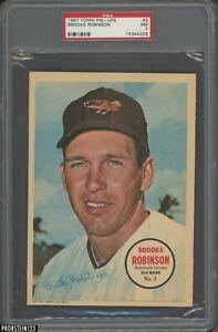 1967 Topps Pin-Ups #3 Brooks Robinson Baltimore Orioles HOF PSA 7 NM