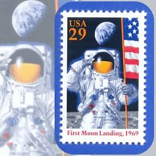 1994  FIRST MOON LANDING in 1969 GENUINE Single MINT Stamp  U.S. Scott # 2841a