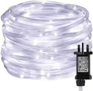 Lepro Rope Lights Mains Powered, Waterproof Outdoor String Lights Plug in, 10M 8
