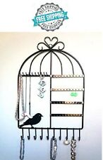 Jewelry Organizer Hanging Holder Display Stand Rack Wall Earring Necklace New