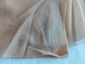 Vintage Brettles 15 denier Fully Fashioned finest nylons stockings. Size 10.5