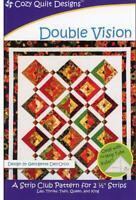 Double vision Quilt pattern - Cozy Quilt Designs