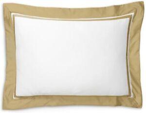 Ralph Lauren Standard Sham Bowery Pima Cotton  624 TC Polished Bronze MSRP $145