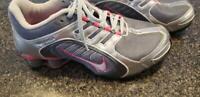 Nike Womens Shox Navina - 356918 066 - Gray pink silver size 9 sparkle