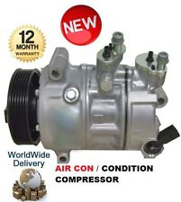 FOR VOLKSWAGEN VW PASSAT 3.6 R36 2007-  NEW AIR CONDITIONING COMPRESSOR SANDEN